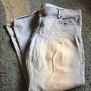 American Eagle stretch slim boot cut size 16 jeans
